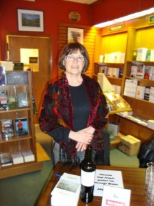 Author Helena Kalivoda at her Owl's Nest book signing