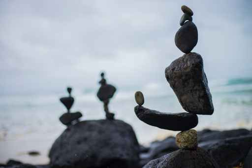 Finding balance during troubled times is vital to helping your partner get through.