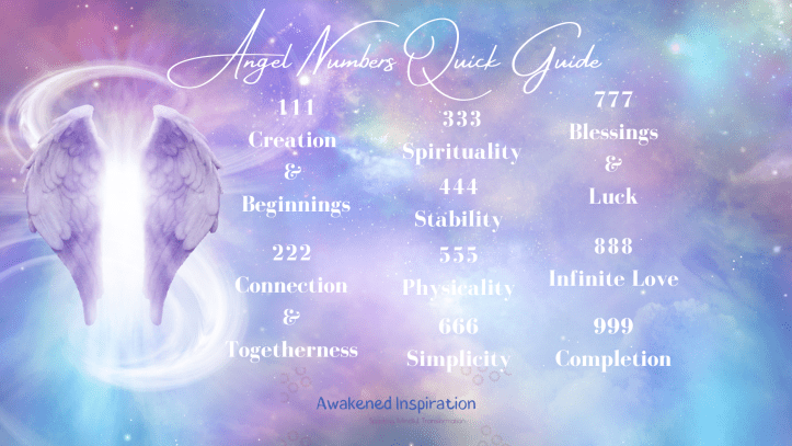 this angel numbers quick guide teaches angel number 111 through angel number 999 meaning