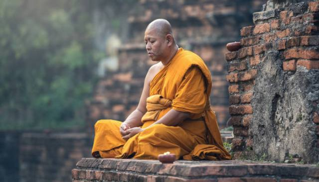 Meditation Benefits Recovery Recovering Man