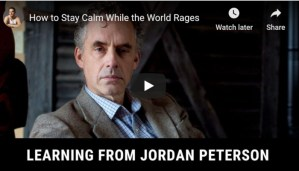 jordan peterson on how to stay calm