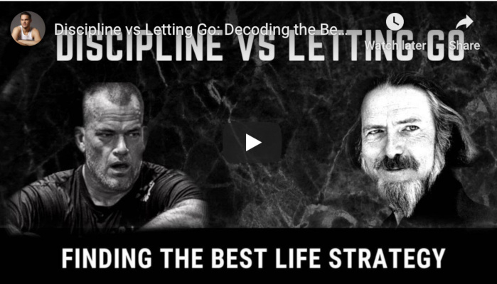 Watch: Discipline vs Letting Go – Decoding the Best Life Philosophy