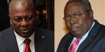 Martin Amidu and John Mahama