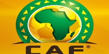 The Confederation of African Football (CAF) logo