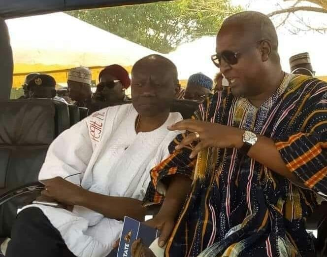 Image result for mahama and cedi