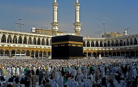 Over Two Million Muslims Gathered At Arafa To Perform Hajj