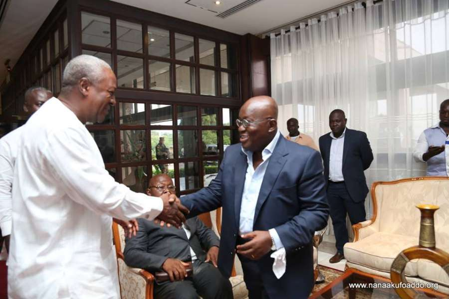 Why the horn, dress in suit and tie white handkie around your wrist? – Dr. Lawrence asks Akufo-Addo