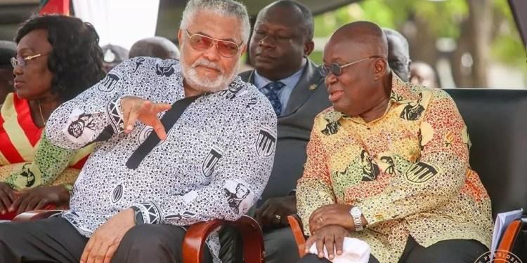 Nana Akufo-Addo and Rawlings