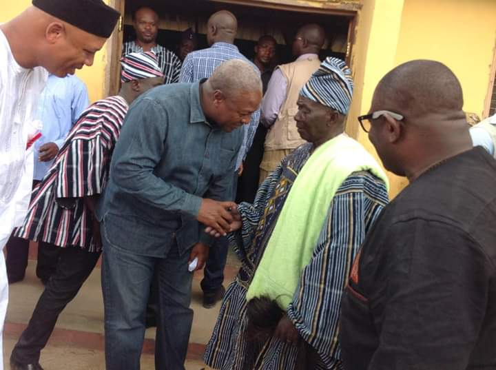John Mahama visits Savannah Region