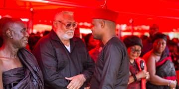 Efo Worlanyo Tsekpo and JJ Rawlings