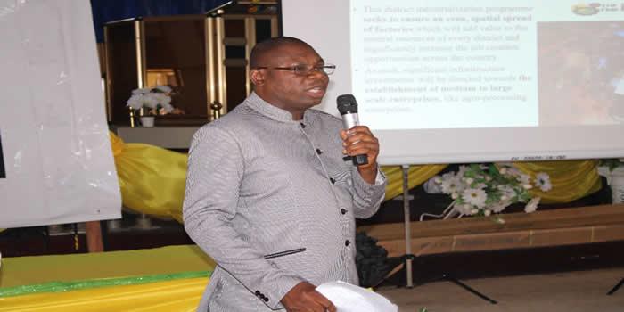 Alfred Amoah,MCE-Bibiani Anhwiaso Bekwai
