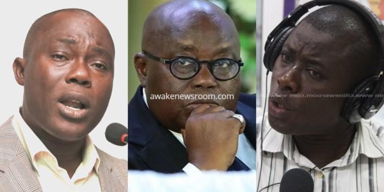 Prof. Gyampo, Elikem Kotoko and Akufo-Addo