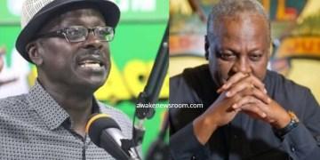 John Mahama and Kweku Asare