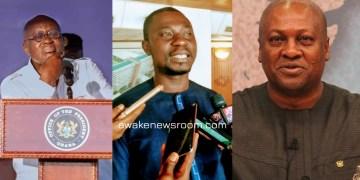 Nana Addo - Ernest Norgbey - John Mahama