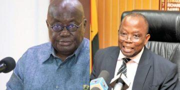 President Akufo-Addo and Daniel Domelevo
