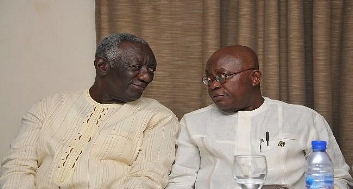 Akufo-Addo and John Kufour