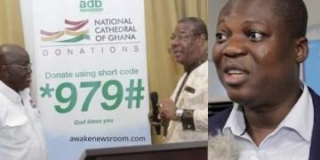John Gatsi on National Cathedral donation