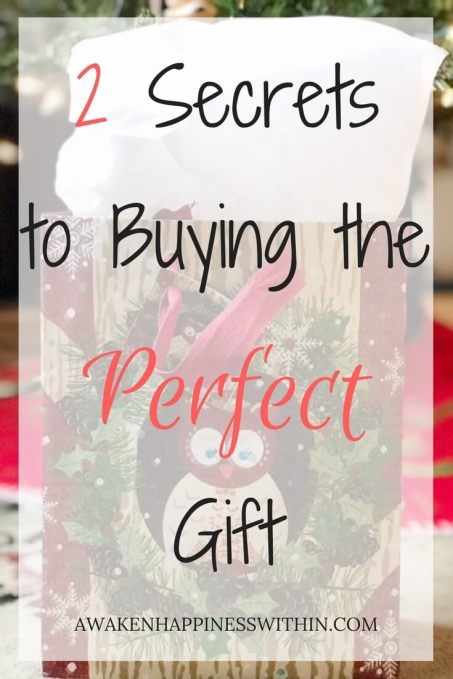 Buying the Perfect Gift, Perfect Gift, Gift Giving Tips, Gift Giving Ideas, Happiness