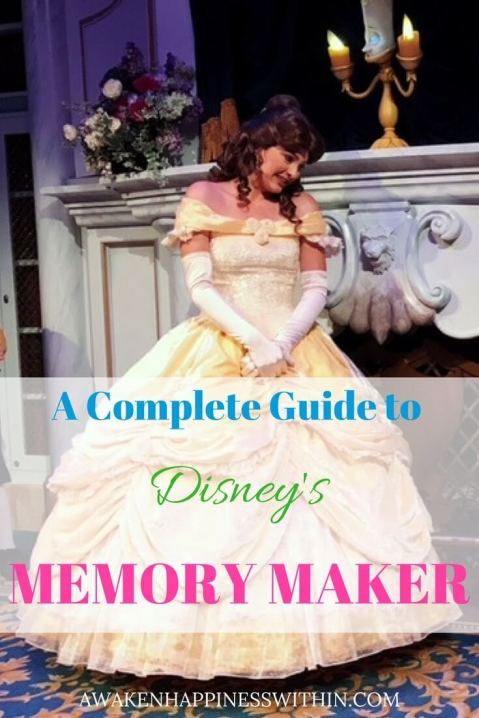 A complete guide to Disney's Memory Maker.