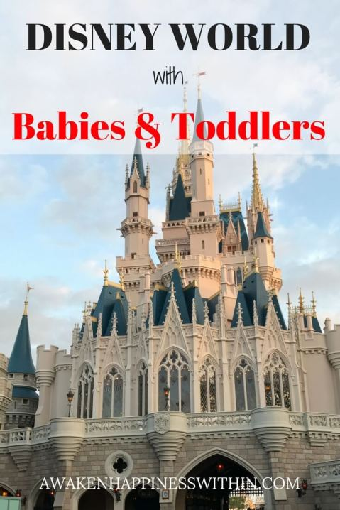Cinderella Castle at Disney World, Disney World with Toddlers and Babies