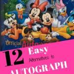 These alternatives to autograph books make amazing souvenirs!