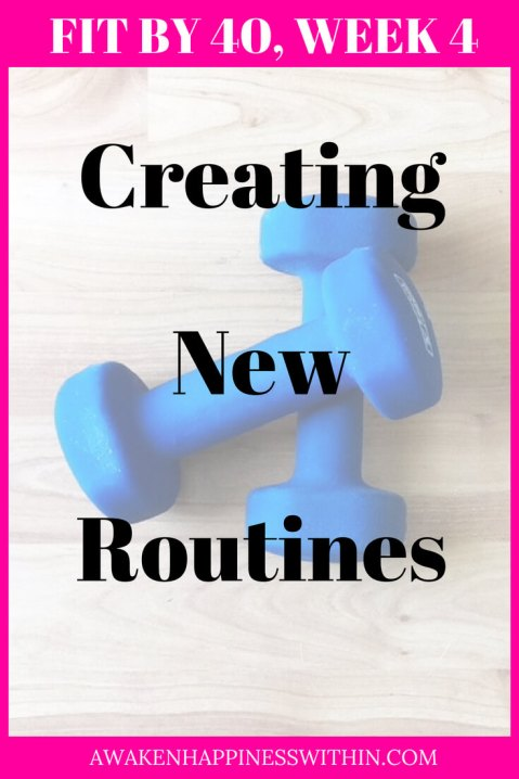 New routines have started to form.