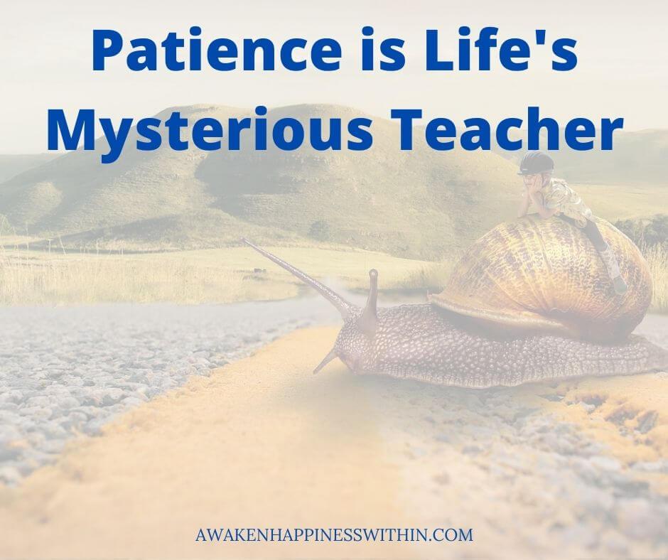 Patience, Wisdom