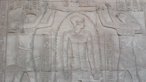 Horus and Thoth