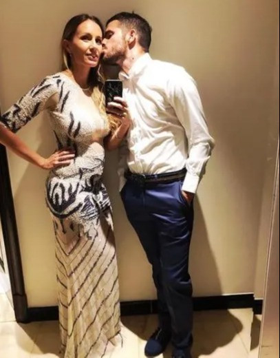 Former Real Madrid footballer splits from tennis star wife after allegedly cheating on her with her best friend