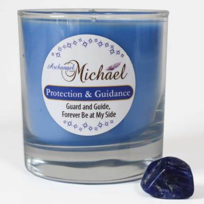 Archangel Michael Candle for Protection and Guidance