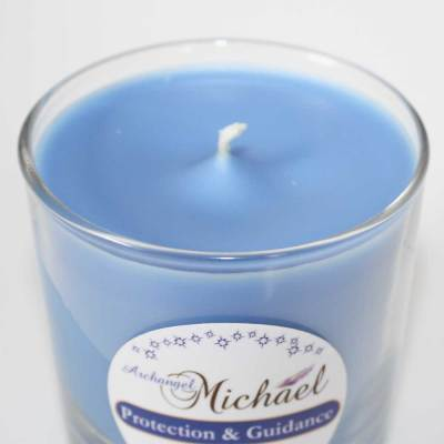 Archangel Michael Soy Candle for Protection and Divine Guidance.