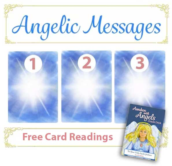 Angel Cards for 7-22-19