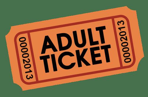 Adult Single Ticket