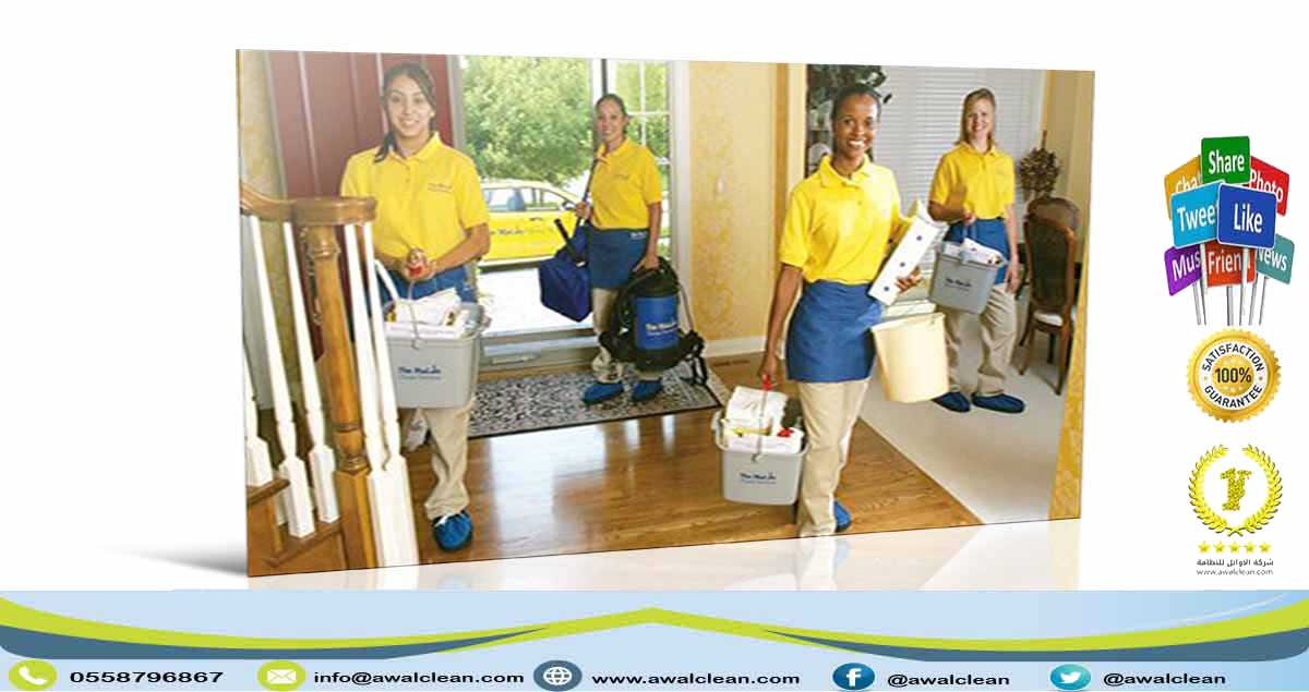 فريق تنظيف منازل محترف
