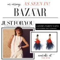 As Seen In: Lizzie Fortunato in Harper's Bazaar