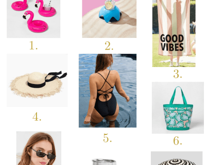 What to Bring to the Beach/Pool: Summer Finds