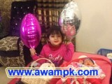 Umar Akmal's Daughter Harleen Umar images
