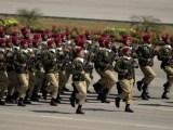 23 March Pakistan Commando force Parade