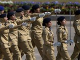 23rd March Pakistan Day 2015 army Froce Nursing Trade female Parade