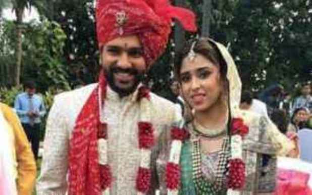 Indian Cricketer Rohit sharma wedding Pictures