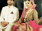 Pictures from Sanam Jung's wedding (1)
