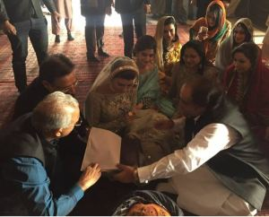 Farhan Saeed & Urwa Hocane Wedding Picture