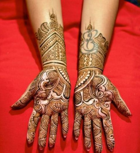 Mehndi New 2017 : Latest mehndi design  awam pk