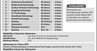 PU Nursing Admission