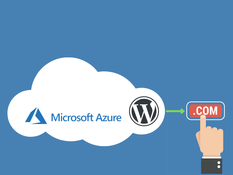 Host WordPress website on Azure and Connect to Custom Domain
