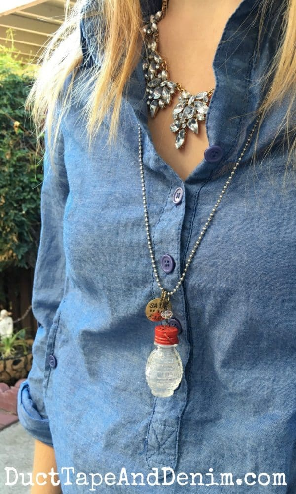 Salt-shaker-necklace-and-statement-necklace-with-chambray-shirt-DuctTapeAndDenim.com_-600x1000