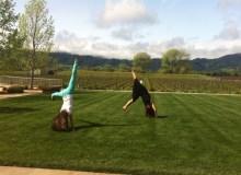 Cartwheels in Napa, CA