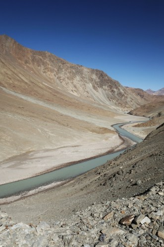 Following this river through the dry high altitude Himalayas, India 2014.