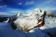 One of the many beautiful Andean peaks in Peru, 2012.