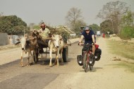 A typical cycle through India, 2014.